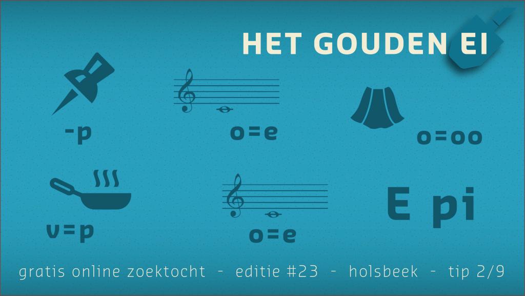 Tip 2 van Het Gouden Ei van Holsbeek