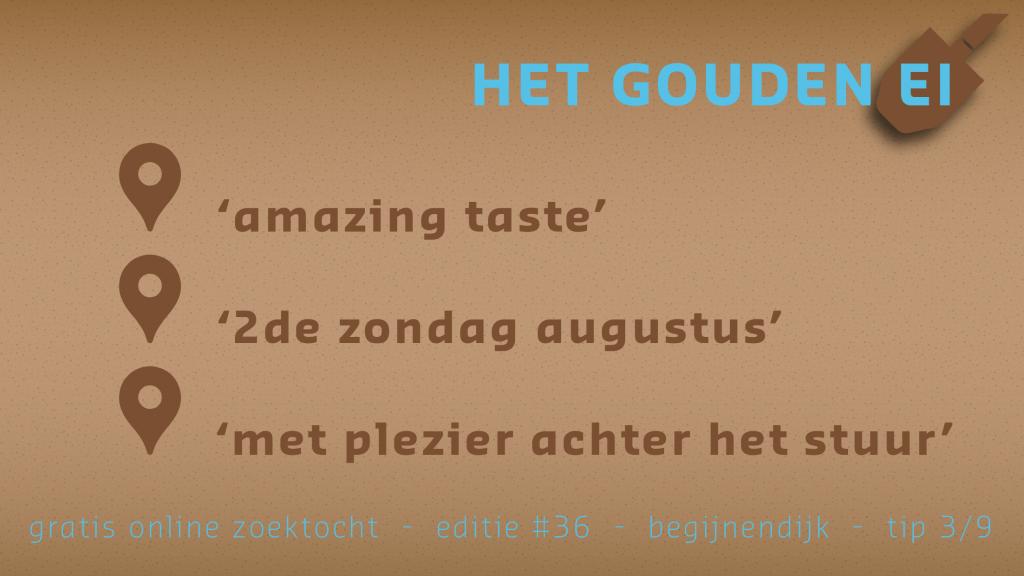 Tip 3 van Het Gouden Ei van Begijnendijk