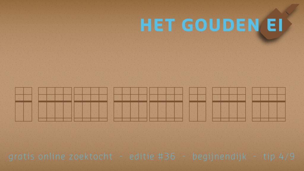 Tip 4 van het Gouden Ei van Begijnendijk