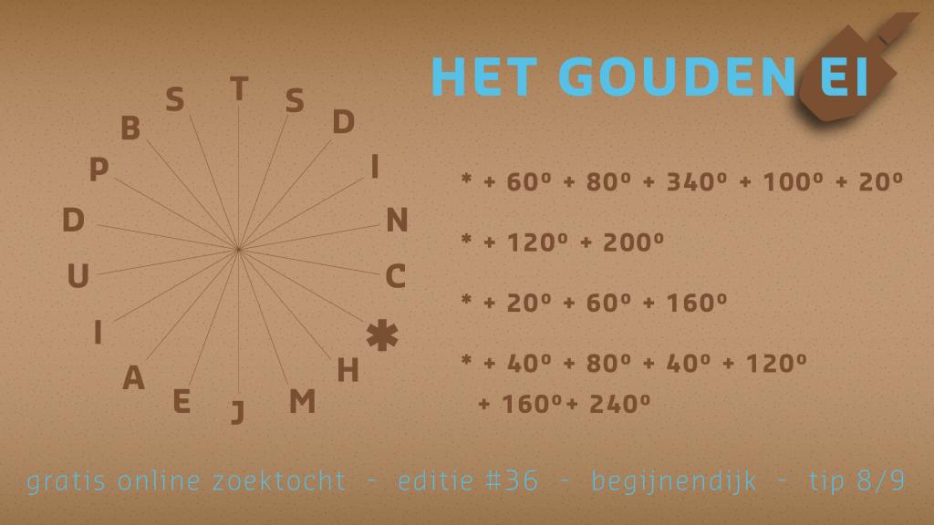 Tip 8 van Het Gouden Ei van Begijnendijk