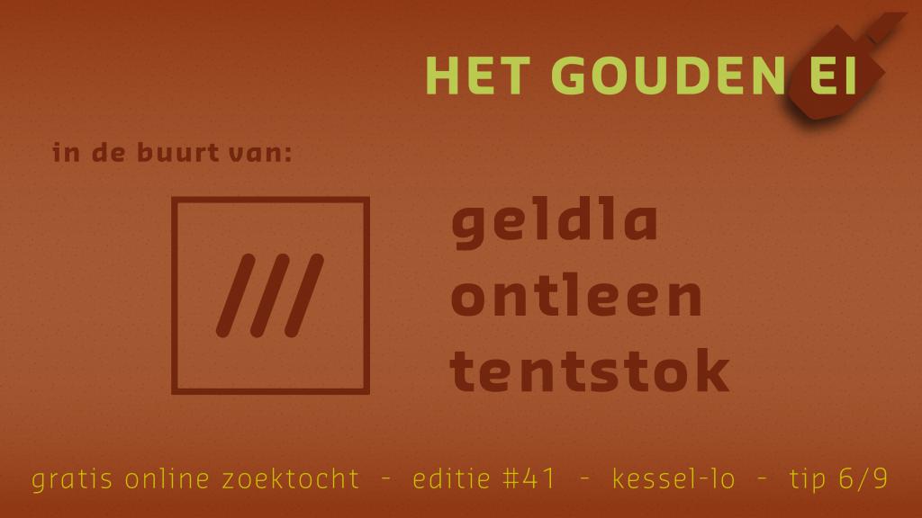 Tip 6 van Het Gouden Ei van Kessel-Lo
