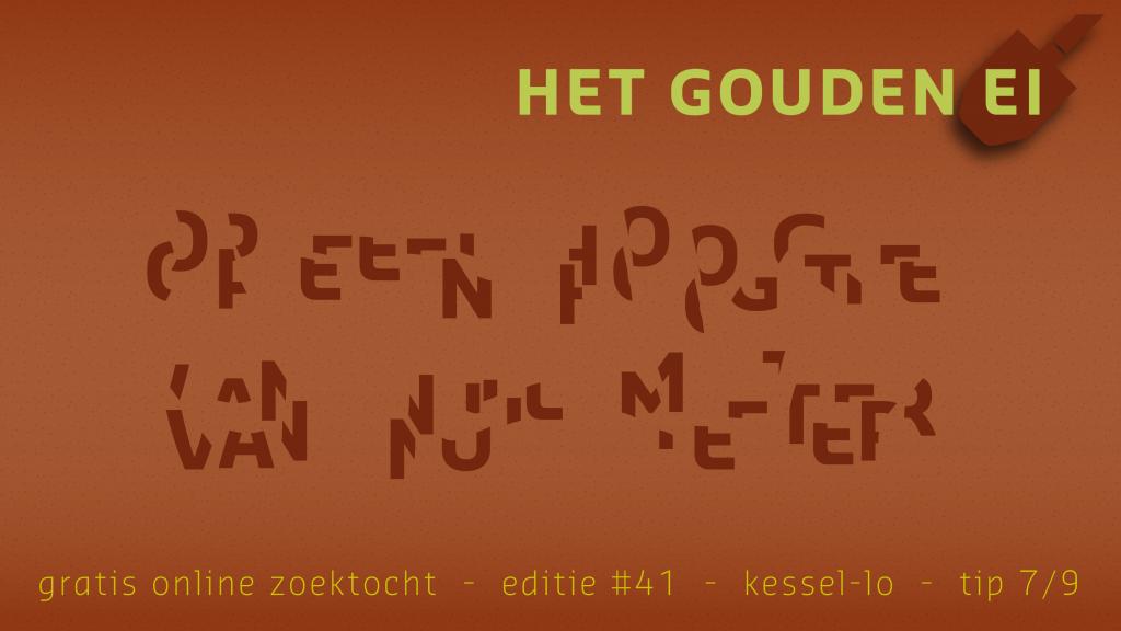 Tip 7 van Het Gouden Ei van Kessel-Lo