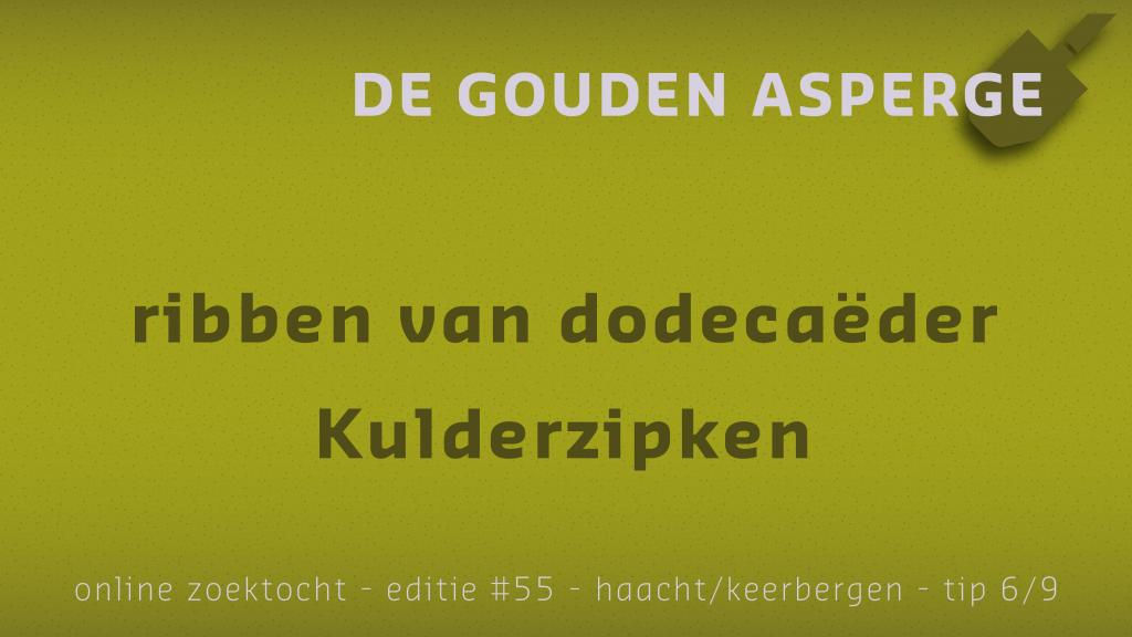 Tip 6 van De Gouden Asperge van Haacht / Keerbergen
